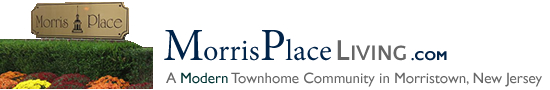 Morris Place in Morristown NJ Morris County Morristown New Jersey MLS Search Real Estate Listings Homes For Sale Townhomes Townhouse Condos   MorrisPlace   Morris Place Condos Walk to Train Downtown Morristown